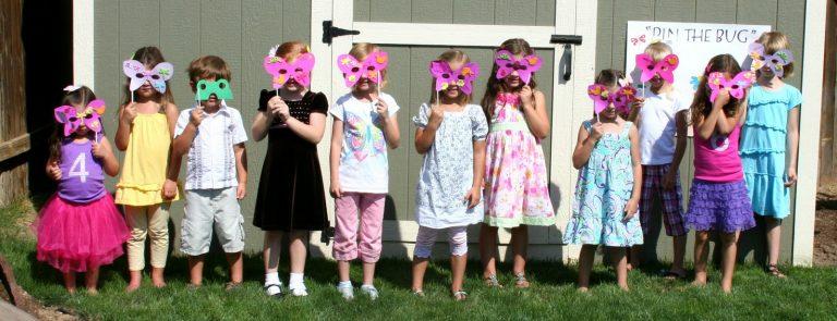 children-nature-party